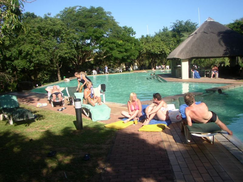 Reisverslag zuid afrika rondreis - Omtrek zwembad ...
